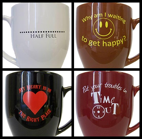 inspirational quote mugs